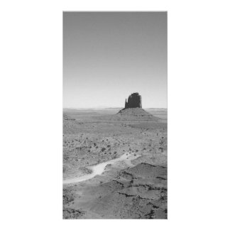 B&W Monument Valley 3 Photo Card