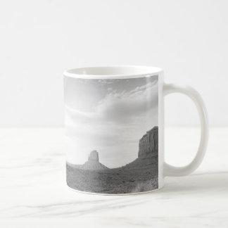 B&W Monument Valley 4 Coffee Mug