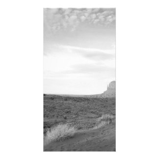 B&W Monument Valley 4 Photo Card