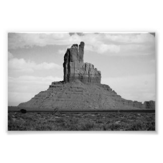 B&W Monument Valley 5 Photo Print