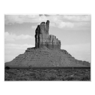 B&W Monument Valley 5 Photograph