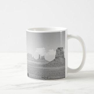 B&W Monument Valley Coffee Mug