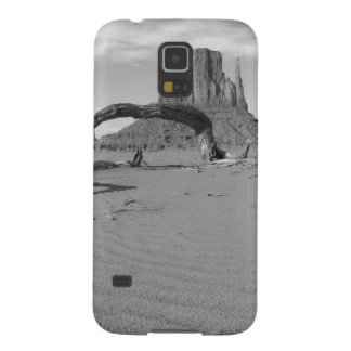 B&W Monument Valley in Arizona/Utah 2 Cases For Galaxy S5