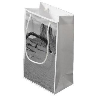 B&W Monument Valley in Arizona/Utah 2 Small Gift Bag