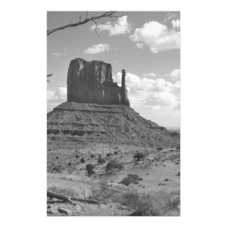B&W Monument Valley in Arizona/Utah 4 14 Cm X 21.5 Cm Flyer