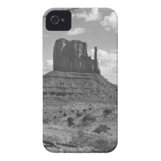 B&W Monument Valley in Arizona/Utah 4 Case-Mate iPhone 4 Cases