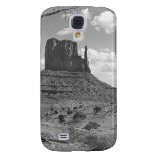 B&W Monument Valley in Arizona/Utah 4 Galaxy S4 Case