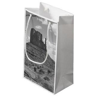 B&W Monument Valley in Arizona/Utah 4 Small Gift Bag