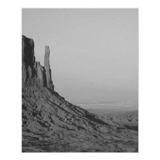 B&W Monument Valley in Arizona/Utah 5 11.5 Cm X 14 Cm Flyer