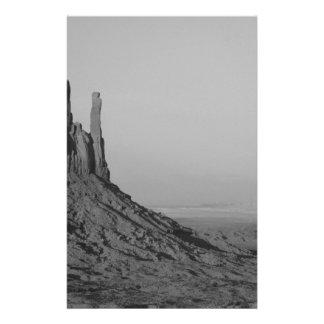 B&W Monument Valley in Arizona/Utah 5 14 Cm X 21.5 Cm Flyer