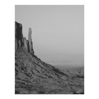 B&W Monument Valley in Arizona/Utah 5 21.5 Cm X 28 Cm Flyer