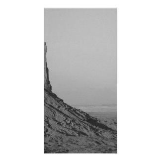 B&W Monument Valley in Arizona/Utah 5 Personalised Photo Card