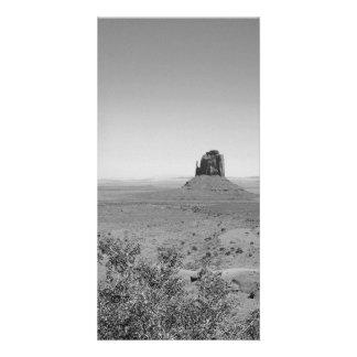 B&W Monument Valley in Arizona/Utah Customized Photo Card