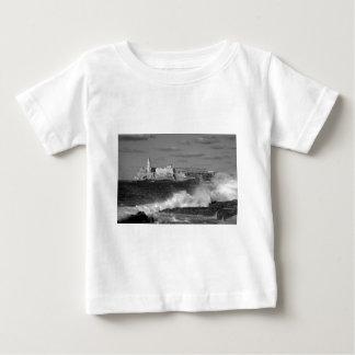 B&W Morro Castle Baby T-Shirt