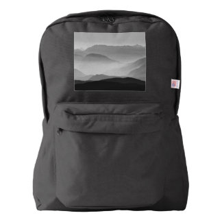 B&W Mountains Backpack