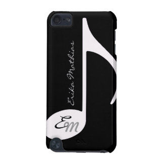 b/w musical note customizable iPod touch 5G covers