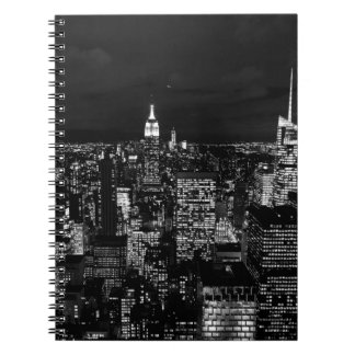 B&W New York City Spiral Notebook