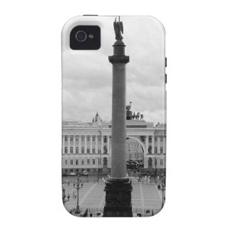 B&W Palace Square iPhone 4 Case