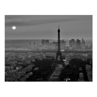 B&W Paris Postcard
