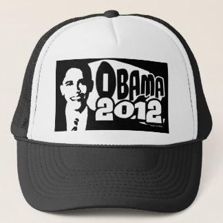 B&W Re-Elect Obama 2012 Gear Trucker Hat
