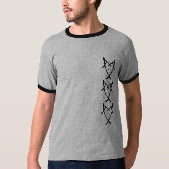 B&W Ringer-T T-Shirt