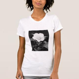 B&W Rose Mallow Ladies' T-shirt