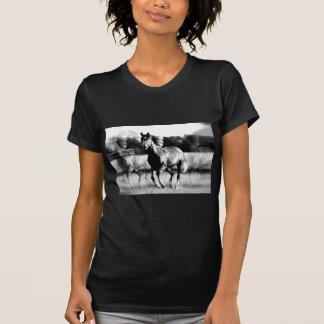 B&W Running Horse T-Shirt