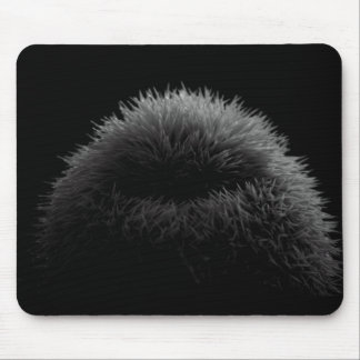 B&W silhouette Mouse Mat