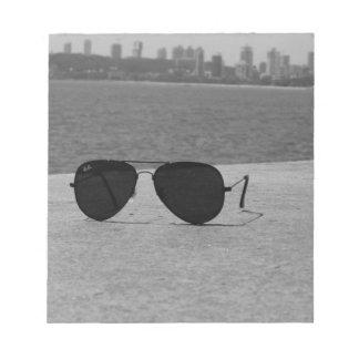B&W Sunglasses & Mumbai Notepad