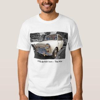 B/W Tinted 60's Mini Car T-shirt