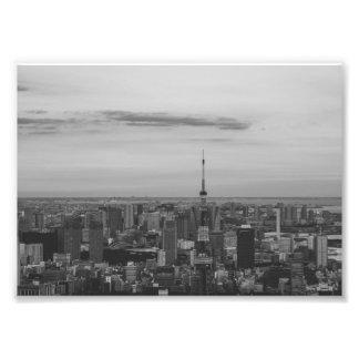 B&W Tokyo Photo Print