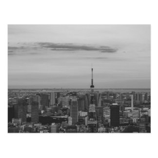 B&W Tokyo Postcard