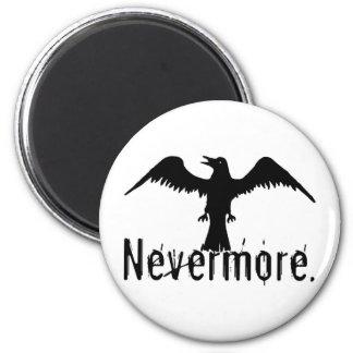 B&W Tribal Raven Nevermore Magnet