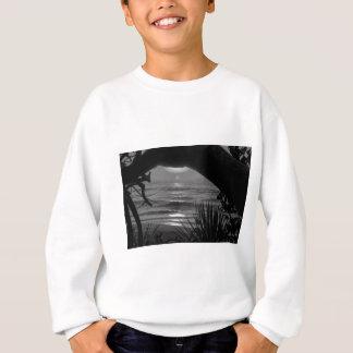 B&W Tropical Sea Sweatshirt