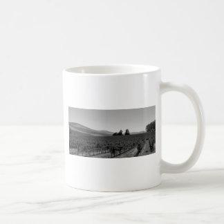 B&W Vineyard Coffee Mug