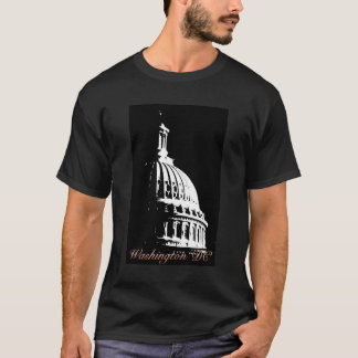 B&W Washington DC Capital T-Shirt