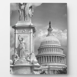 B&W Washington DC Photo Plaques