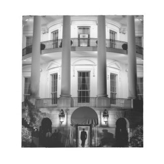 B&W White House 2 Notepad