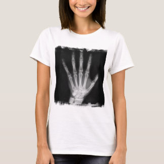 B&W X-ray Skeleton Hand T-Shirt