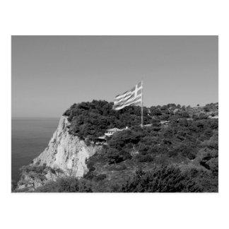 B&W Zakynthos Island 2 Postcard