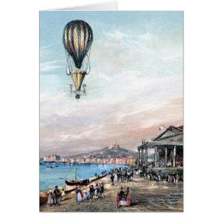 BA2304FAC01Z-Francesco Orlandi Propeller Balloon Greeting Card