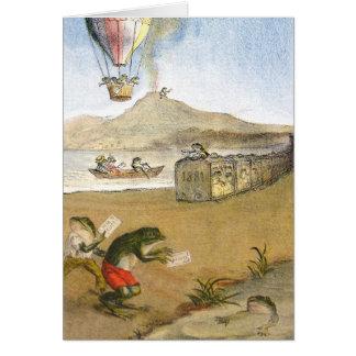 BA3G10461FAC03Z-Italian Frog News Scene 3 Art Card