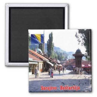 BA - Bosnia and Herzegovina - Sarajevo Bašcaršija Magnet