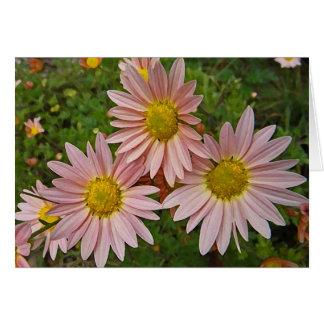BA- Cheerful Chrysanthemum Thinking of you card
