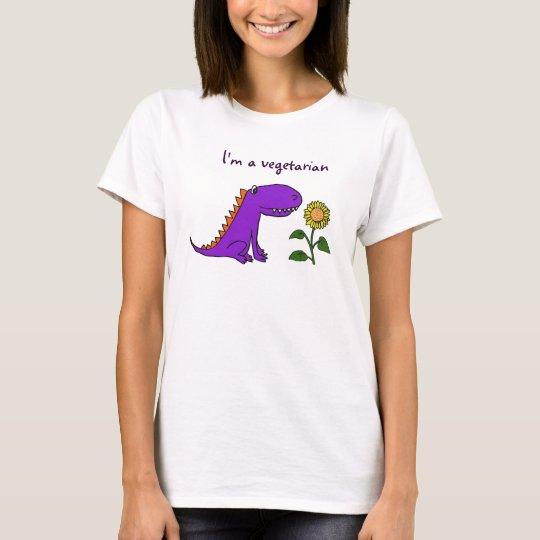 BA- I'm a vegetarian dragon shirt