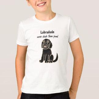 BA- Labradoodle Cartoon T-shirt