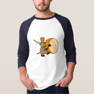 BA- Longhorn Steer Playing the Drum Shirt