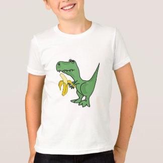 BA- T-Rex Eating a Banana T-shirt