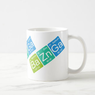 Ba Zn Ga! Periodic Table Elements Mug