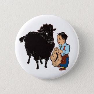 Baa Baa Black Sheep 6 Cm Round Badge